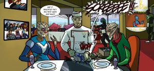 At the restaurant by Ritualist