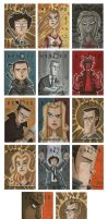 Heroes Sketch Cards 1 by OtisFrampton