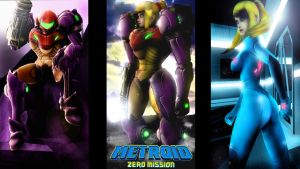 Metroid - Zero Mission by LemurfotArt