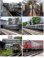 Real Trains Used in the Sea Beach Line Incident by newyorkx3