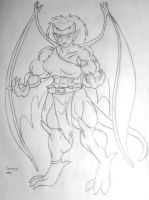 "Demona ""Gargoyles"" by MATL"