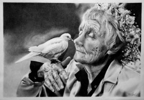 Astrid Lindgren by Thessen