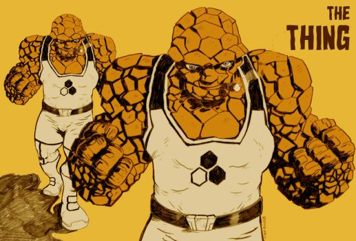 The Thing by mr-roho