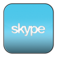 Skype Icon by robduckyworth