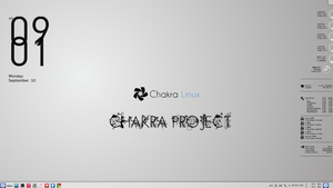 Chakra Linux ScreenShot by samiuvic