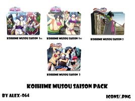 Icon Folder  - Pack Koihime Musou by alex-064