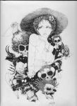 Gals and Ghouls Sunny Darkness by cre8DV8gr8