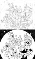 Invincible 40 page 1 panel 1 by RyanOttley