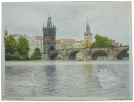 Charles Bridge by michaelcardenas