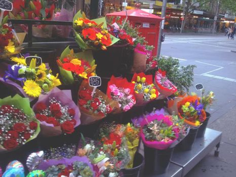 Flower Stand by ceedeng