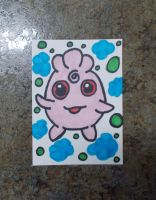 Igglybuff ACEO by chkimbrough