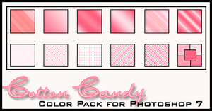 Cotton Candy Color Pack by redbonniekidd