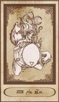 The Moon Card by Karla-Chan