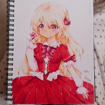 new copic test  by dathie