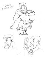 Roger Charming Sketch by Cartoon-Eric