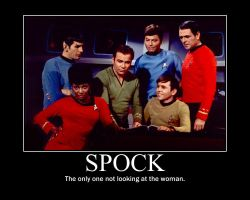 Spock Motivational Poster by RainyCloud900