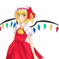 Flandre Scarlet by StrawberryWaltz
