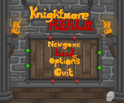 Knightmare Realm: Menu by Lord-Varian