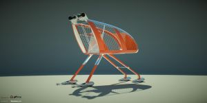 shopping trolley 7 by Krzychuc4d
