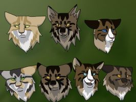 Tiger Family Tree by Gaara27wolf