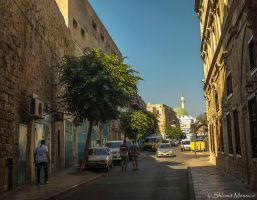 In the streets of Akko by ShlomitMessica