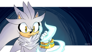 Silver the Hedgehog by AnaP15