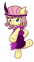 Flappershy by schizophrenicGhost