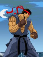 Evil Ryu by raphipl