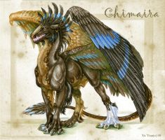 Chimaira by Esa82
