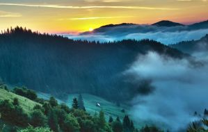 Sunrise in Bucovina by ancam131
