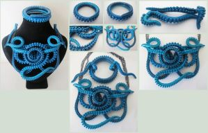 LS11 Turquoise tentacle by KTOctopus