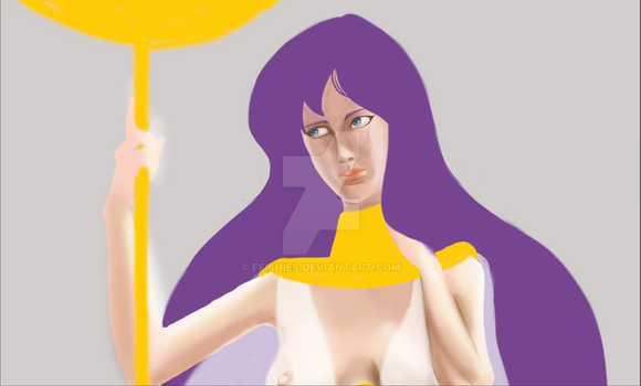 Atenea in progress by Ffishies