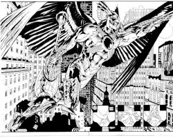 The Savage Hawkman Issue 9 Pages 2-3 by aethibert