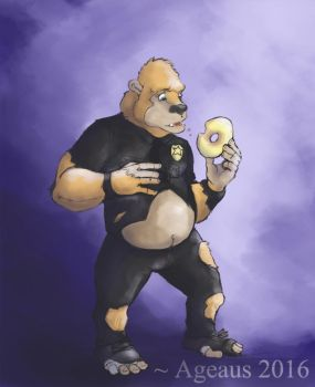 Ape-pealing Donut by Ageaus by Officer-Luke