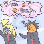 Tobi equals EMO by heartlesstheif