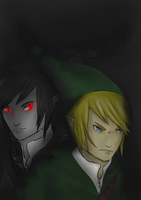The Dark and the Light by AlliTheHunter