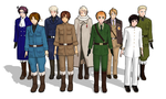 My Hetalia MMD Models SO FAR by FullMetal-Midget
