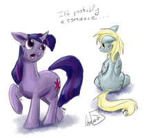 It's probably a romance by archonix