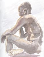 Watercolor study by johnstiles