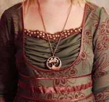 Wood Tree Necklace by Hands-and-Teeth