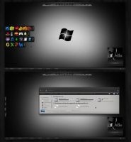 Windows Black by HamzaEzz