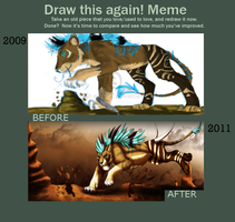Draw again Meme by Nala91