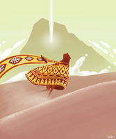 Journey Fanart by ailaik