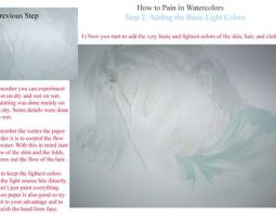 How to Paint in Watercolors 2 by vanmaniac