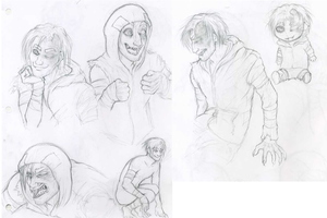 L4D: Rumble sketches by MelvisMD