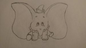 Dumbo by eillahwolf