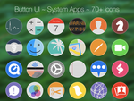 Button UI ~ System Icons by BlackVariant