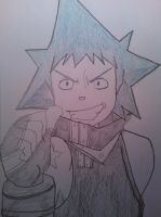Soul Eater: Black Star by Poccahontas97