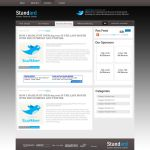 """Standard"" - Wordpress Theme by booboo7"