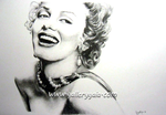 Marilyn Monroe by GalleryGaia